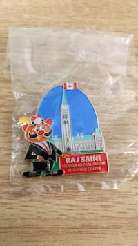 Raj Saini mint condition limited edition pin Kitchener, N2G 1E3