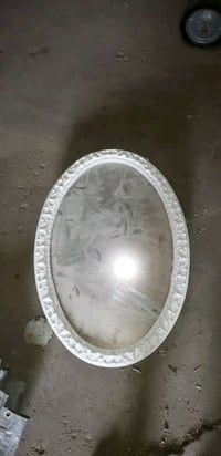Oval glass mirror medicine cabinet Chicago, 60638