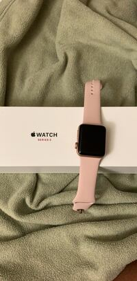 gold Apple Watch with white sports band Frederick, 21702