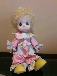 Precious Moments Clown Doll