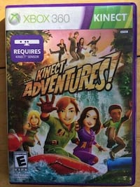 Kinect Adventures Xbox 360 game case