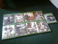 assorted Xbox one games
