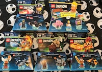 LEGO Dimension Bundle: The Simpson's, CHIMA, Lord of the Rings, & The LEGO Movie San Diego, 92139