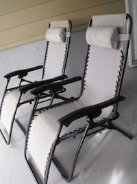 2 for $50 Used Gravity Chairs Surrey