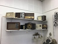Large lot of vintage radios for sale, many brands, 1930's - 1980's Englishtown, 07726