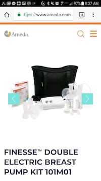 Ameda Finesse breast pump Savannah, 31419