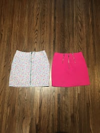 H&M skirts! Multicolour size 6, hot pink size 4! Coquitlam, V3J 6A1