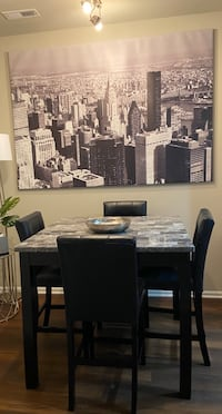 Modern contemporary dining table set
