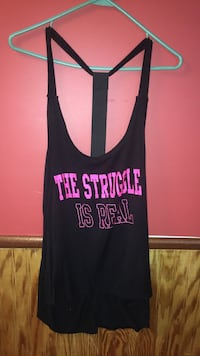black and pink Victoria's Secret tank top Auburn, 42206