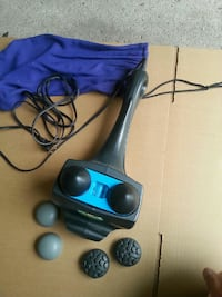 black and blue corded massager Brampton, L6X
