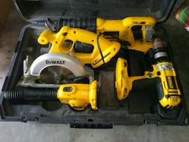 DeWalt set need it out of the garage. Open to offers.
