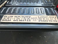 Eat Drink and be Merry sign East Northport, 11731
