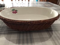 Nice pasta or fruit  decoration plate bran new  Laval