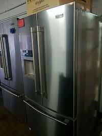 Maytag stainless steel French doors brand new scra 46 mi