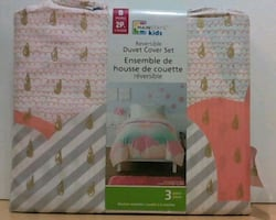 2pc Kids Duvet Cover Set- New