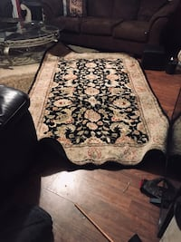 brown and black floral area rug Baton Rouge, 70816