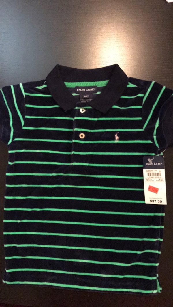 Brand new Polo top size 4T