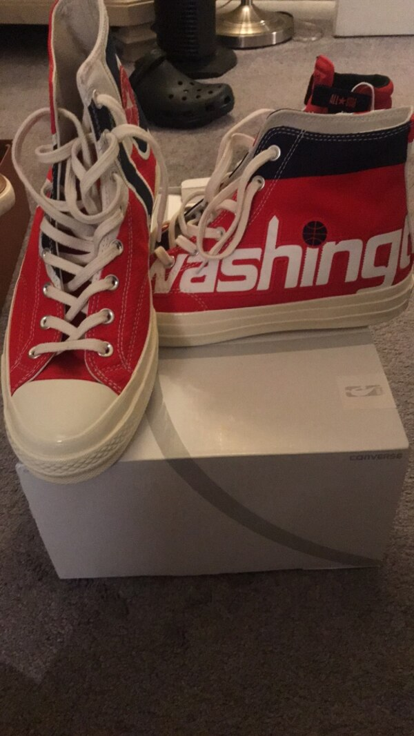 Limited edition washington wizards converse