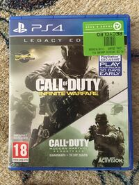 Call of Duty Infinite Warfare PS4 spill tilfelle Egersund, 4370