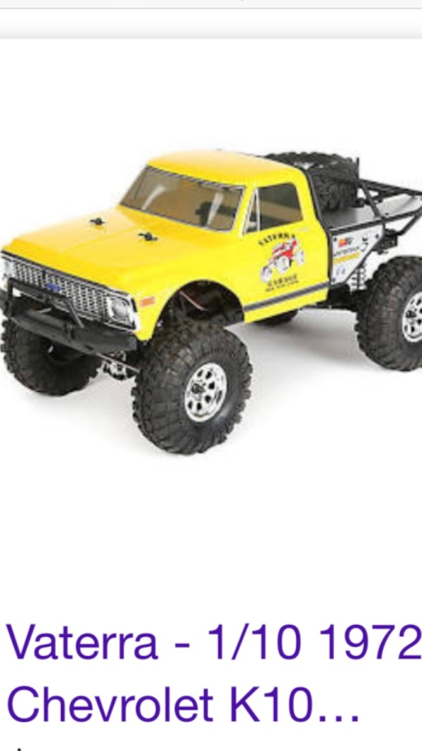 Yellow and black rc monster truck