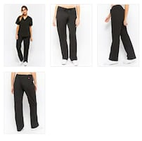 Trent University Scrub BLACK Scrub Pants ONLY $40 (whole set)