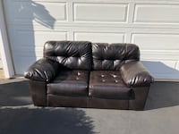 2 Leather Loveseats Woodbridge, 22191