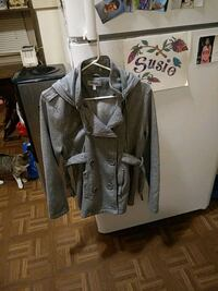 Women's hooded Double Breasted Jacket