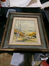 5x7 Liona A. Moore oil painting $75 Fairfax, 22032