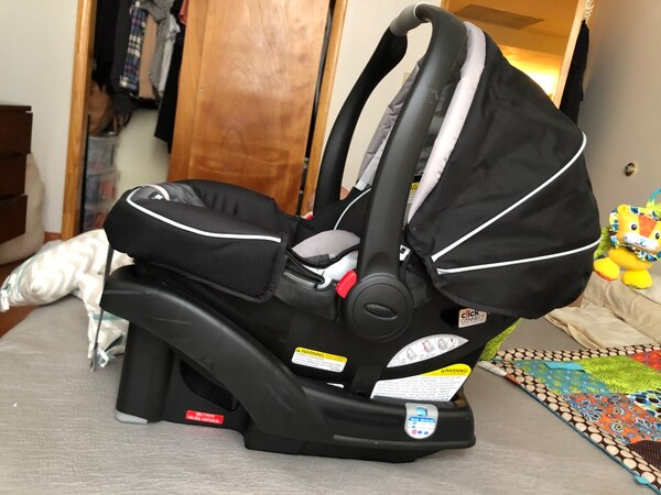 Graco Click Connect 35 Infant Car Seat With Base In Gotham