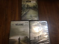 Walking Dead season 1 to 3 (Never been opened) North Vancouver, V7P 1S3