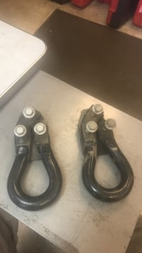 Ford Superduty tow hooks