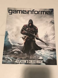 Assassins Creed: Rogue Gameinformer Magazine Bethlehem, 18018