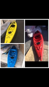 Kayak brand new a couple left