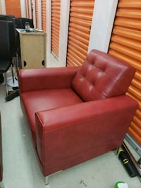 red leather sofa set with ottoman 538 km