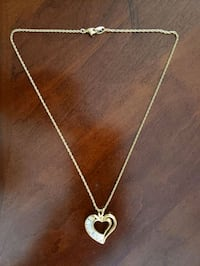 Crystal Heart Necklace Mansfield, 44904