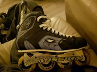 Like new Mission rollerskates Victoria, V8Z 1C2
