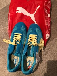 PUMA blue-and-yellow running shoes - size 10 - brand new Montréal, H4G 3J1