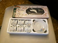 Mini cups and saucers set