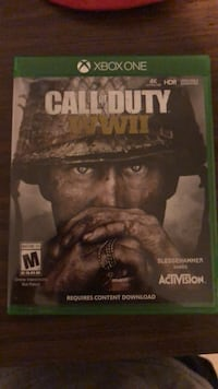 Call of Duty World War 2 (WWII) Xbox One West Hartford, 06117
