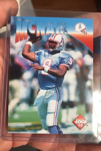 1995 Collector's Edge Instant Replay Prisms Football Card #43 Halethorpe, 21227