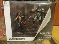 Injustice gods among us (cyborg vs Harley mini)  Toronto, M4L 3A2