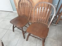 Antique chairs sturdy  great conditions