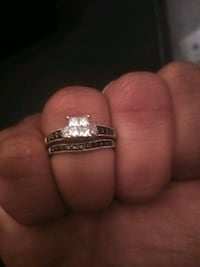 Diamond engagement ring + enhancer ring Albuquerque, 87120