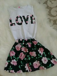 2T Love Floral Outfit Idaho Falls, 83402