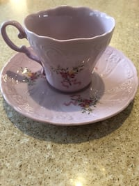 Leander Czech porcelain cup and saucer
