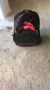 black and red duffel bag Columbia, 21044
