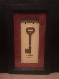 "4 Wall Shadow Box Picture Frame's 6.2.5"" x 4"" Silver Key's Las Vegas"