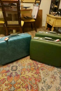 SALE $8 each (3) Vintage American Tourister Suitcases Hard Shell Norfolk, 23505