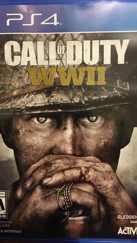 Call of duty wwii sony ps4  Mansfield, 06269