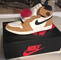 Jordan 1s rookie of the year of size 10.5 1367 mi